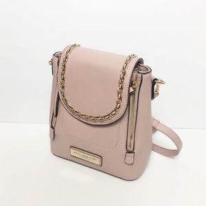 Marc New York Pink Blush Mini Backpack Crossbody